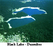 Black Lake (Crnoo Jezero) on the mountain Durmitor